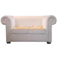 London Weiß (K1) 2-Sitzer Chesterfield Sofa