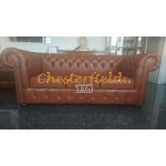 Classic Haselnuss 3-Sitzer Chesterfield Sofa - TheChesterfields.de