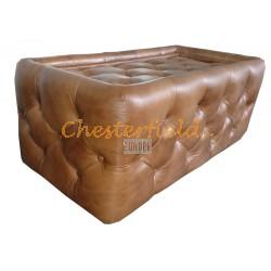 Chesterfield Tisch 60x120 Antikgold