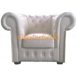 Classic Off-White (K2) Chesterfield Sessel