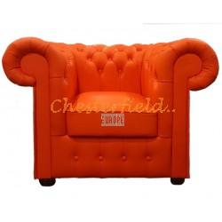 Classic Orange (K6) Chesterfield Sessel