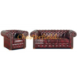 Classic 31 Antikrot Chesterfield Garnitur