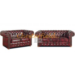 Classic 32 Antikrot Chesterfield Garnitur