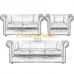 London Chesterfield Garnitur - TheChesterfields.de