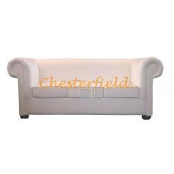 London Weiß (K1) 3-Sitzer Chesterfield Sofa