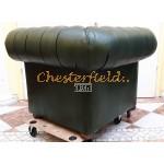 Classic Antikgruen (A8) Chesterfield Sessel
