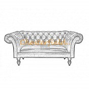 Diva 2er Chesterfield Sofa (2)