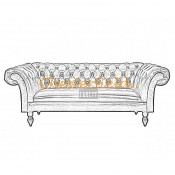 Diva 3er Chesterfield Sofa (4)