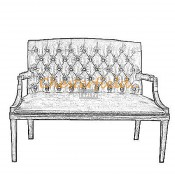 King 2er Chesterfield Sofa (2)