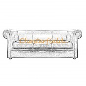 London 3er Chesterfield Sofa (3)