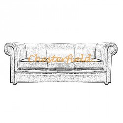 London 3er Chesterfield Sofa - TheChesterfields.de