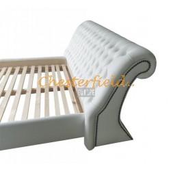 Chesterfield Oxford Bett 160x200 Weiß
