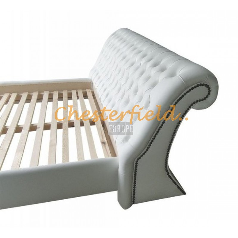 chesterfield oxford bett 160x200 wei. Black Bedroom Furniture Sets. Home Design Ideas