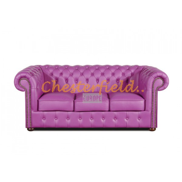 Classic Viola 3-Sitzer Chesterfield Sofa - TheChesterfields.de