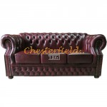 Windsor Antikrot 3-Sitzer Chesterfield Sofa - TheChesterfields.de