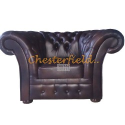 Windchester Antikbraun (A5) Chesterfield Sessel