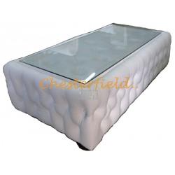 Chesterfield Tisch 50x150 Weiss (K1)