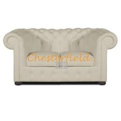 Classic Off-Weiß 2-Sitzer Chesterfield Sofa