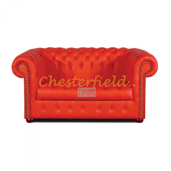 Williams Rot 2-Sitzer Chesterfield Sofa - TheChesterfields.de
