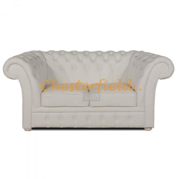 Windchester Off Weiß 2-Sitzer Chesterfield Sofa