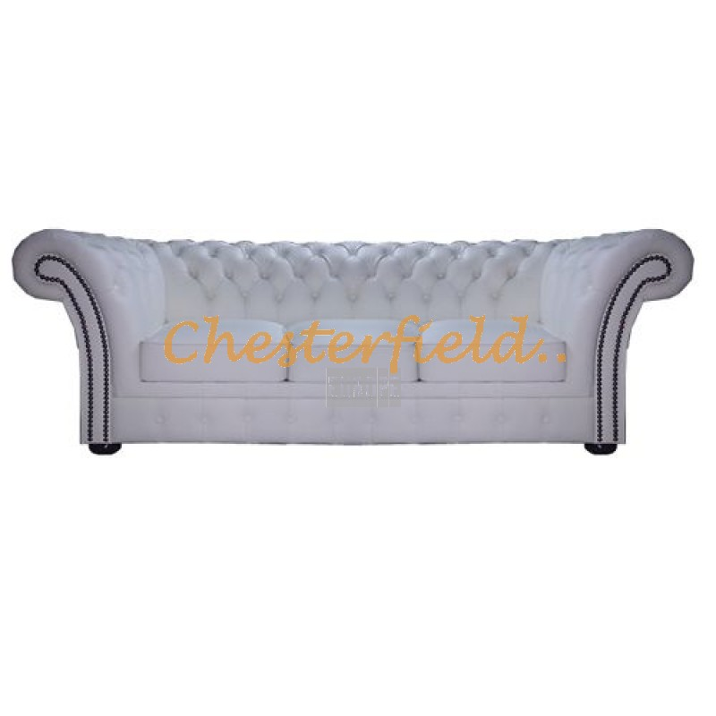 windchester wei 3 sitzer chesterfield sofa. Black Bedroom Furniture Sets. Home Design Ideas