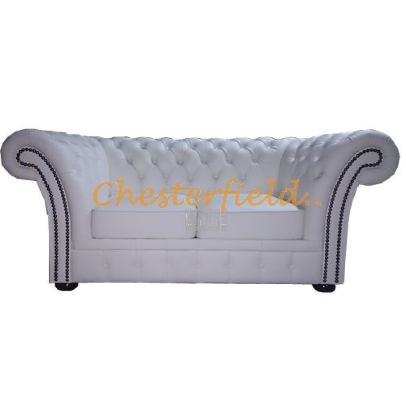 windchester wei 2 sitzer chesterfield sofa. Black Bedroom Furniture Sets. Home Design Ideas