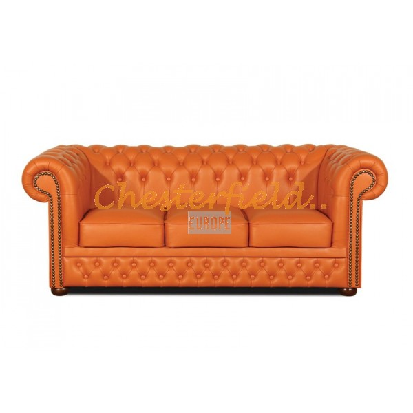 Lord Orange 3-Sitzer Chesterfield Sofa - TheChesterfields.de