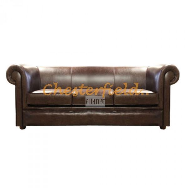 London Antikbraun 3-Sitzer Chesterfield Sofa - TheChesterfields.de