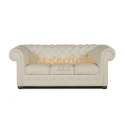 Classic Off Weiß 3-Sitzer Chesterfield Sofa