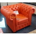 Classic 321 Orange Chesterfield Garnitur - TheChesterfields.de