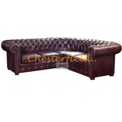 Classic 2+2 Antikrot  Chesterfield Ecksofa 215 cm x 215 cm