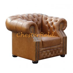 Windsor Antikwhisky(C12) Chesterfield Sessel