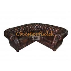 Windsor 2+2 Antikbraun Chesterfield Ecksofa 220x220