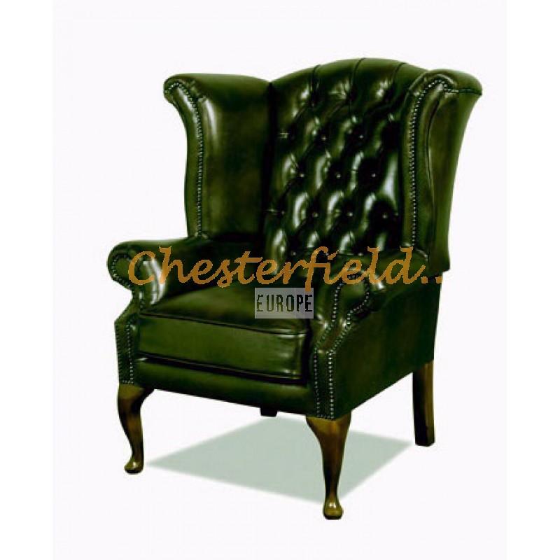 Queen Antikgrun A8 Chesterfield Ohrensessel Thechesterfieldsde