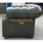 Windsor Antikgruen Chesterfield Sessel