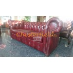 Classic Antikrot 3-Sitzer Chesterfield Sofa