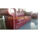 Classic Antikrot 3-Sitzer Chesterfield Sofa - TheChesterfields.de