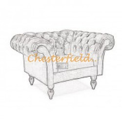 Diva XL Chesterfield Sessel