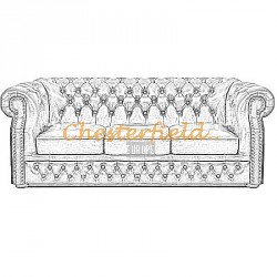 Windsor 3er Chesterfield Sofa - TheChesterfields.de